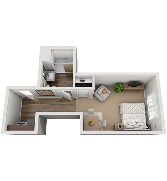 Sonata 2 0 Bedroom Apartment Floor Plan